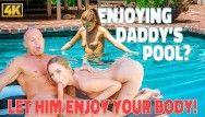 Daddy4K.Jenny è allegro per fare sesso con Hawt invecchiato vero papà