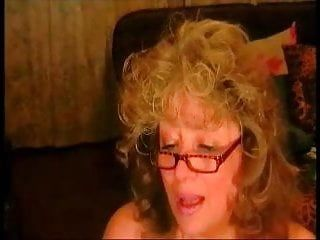 Hawt old mommy show her giant breast and a-hole on webcam