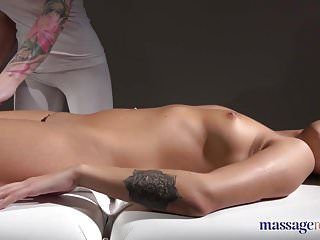 Massage rooms large bumpers tattoos golden-haired and oiled up brunette hair