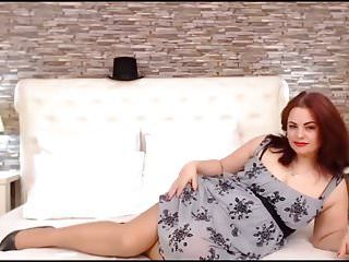 Thick legs redhead hot large milk shakes milf in stockings two
