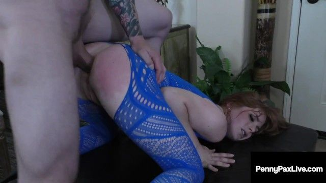 Beautiful small penny pax receives miniature chocolate starfish drilled
