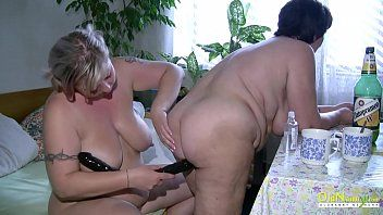 Oldnanny bbw aged lesbian babes playing jointly