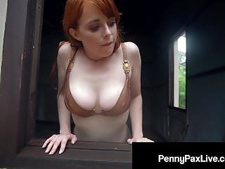 Jungle Princess Penny Pax acquisisce Hawt esposto nastoso allaperto