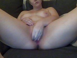 Tumblr gal masturbates with large dark sex-toy