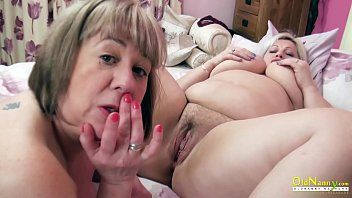 Oldnanny 2 british aged lesbos masturbation