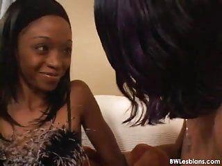 Spicy interracial lesbo porn movie