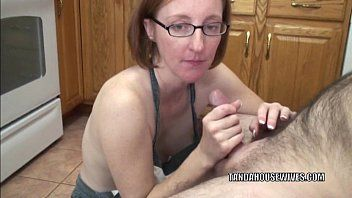 Aged whore layla redd is on her knees to engulf a dong