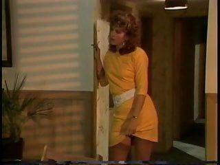 Ingwer-Porno-Legende Shanna in Nylons und Garters