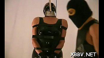 Playgirl vorace sta per girare la sua prima scena di un film porno