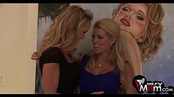 Brandi love porn and nicole graves disrobe to fuck a large shlong - milfymom.com
