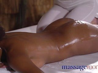 Massage rooms juicy slippery and oiled interracial lesbos fu